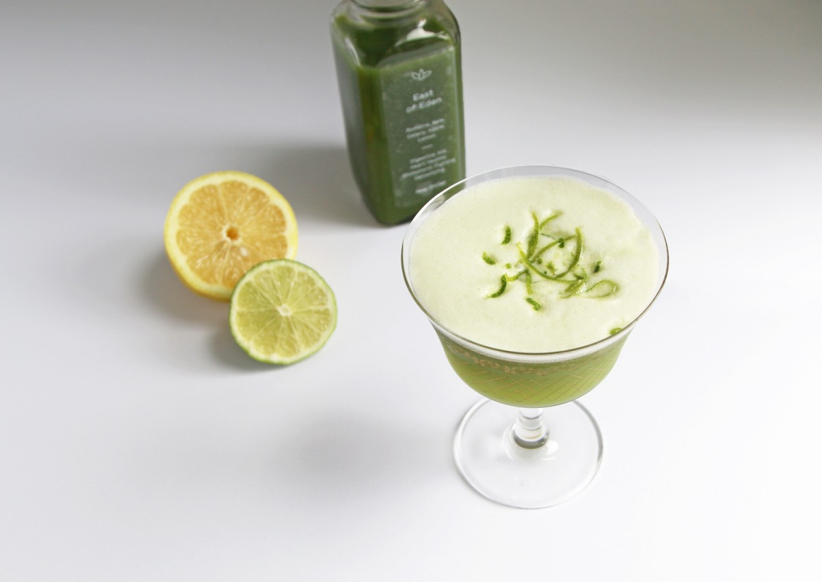 Green Lady Healthy Cocktail