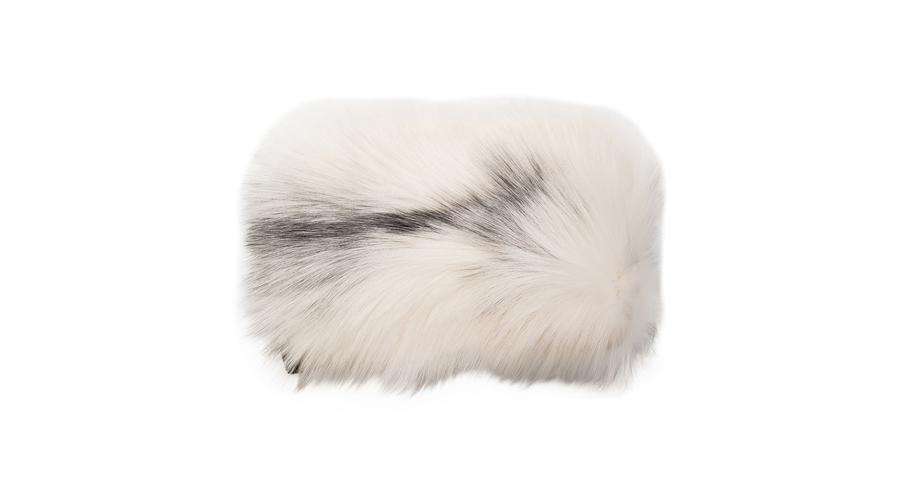 Lanvin Knit Fur Stole, $2,904