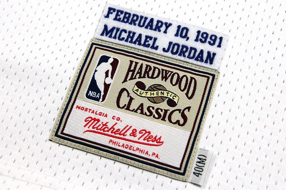 Mitchell Ness Releaes Michael Jordan 1991 NBA All Star Jersey-1