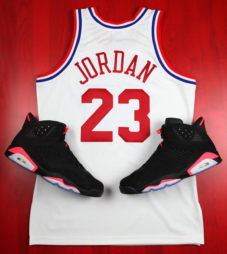 Mitchell Ness Releaes Michael Jordan 1991 NBA All Star Jersey-2