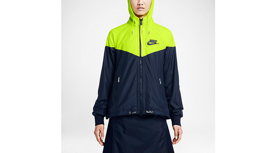 NikeLab x Sacai Windrunner Pleated Back