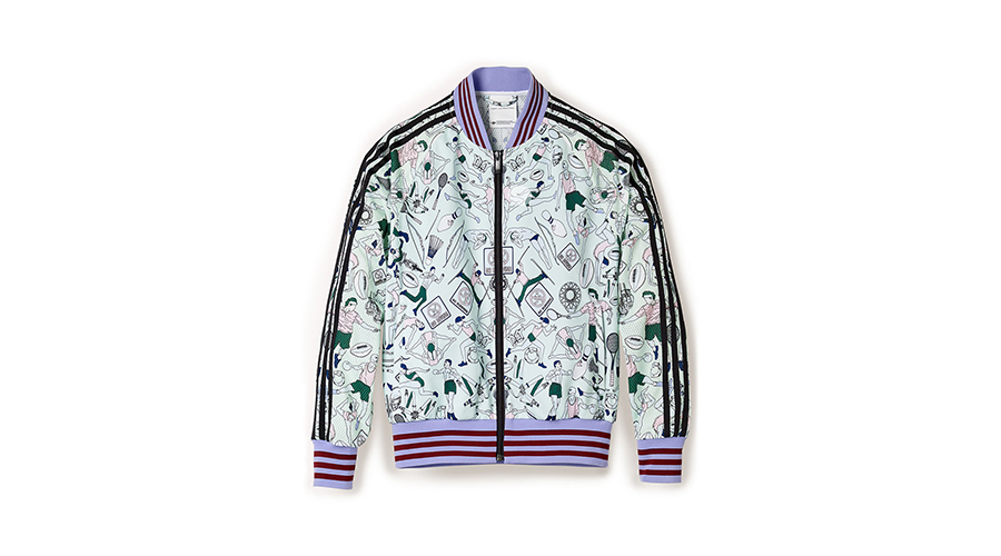 adidas by Mary Katrantzou People and Logo-Print Track Jacket, $250