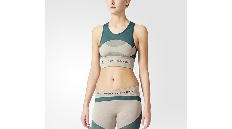 adidas x Stella McCartney Yoga Essentials Crop Top, $80