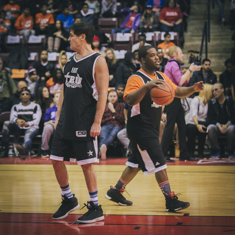 ASAP Ferg Mark Cuban NBA AllStar 2016 Charity Game