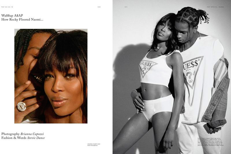 ASAP Rocky Naomi Campbell POP Magazine 34-1