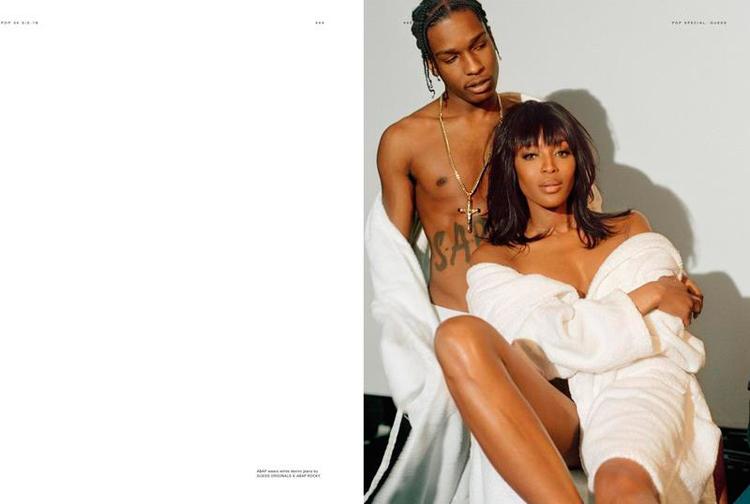ASAP Rocky Naomi Campbell POP Magazine 34-3