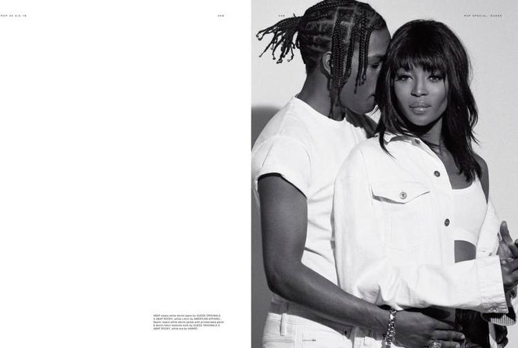 ASAP Rocky Naomi Campbell POP Magazine 34-5