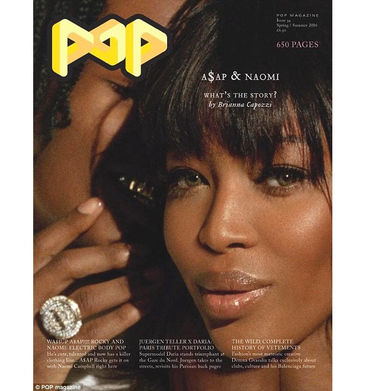 ASAP Rocky Naomi Campbell POP Magazine 34