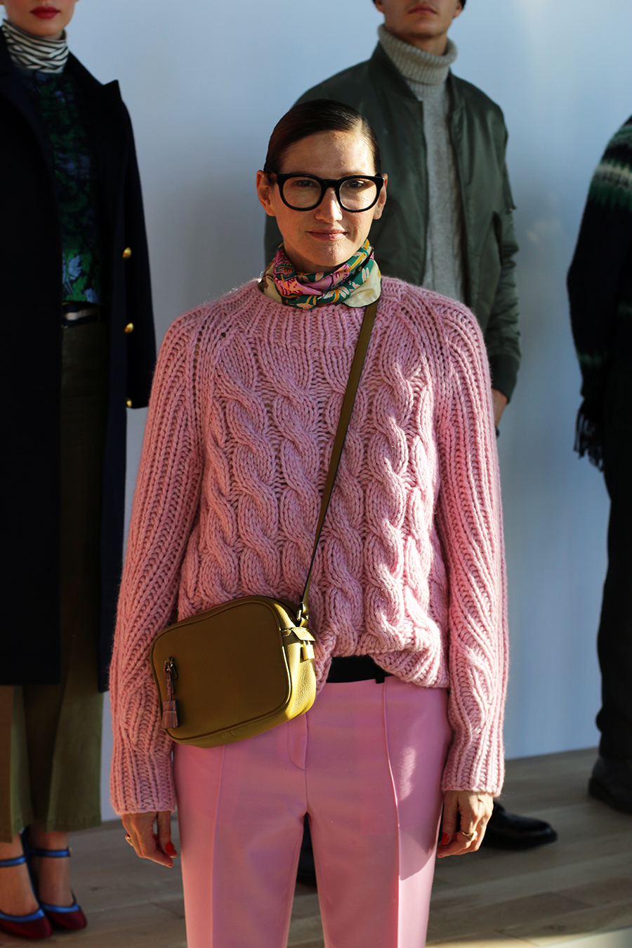 Jenna Lyons J Crew Fall Winter 2016 NYFW