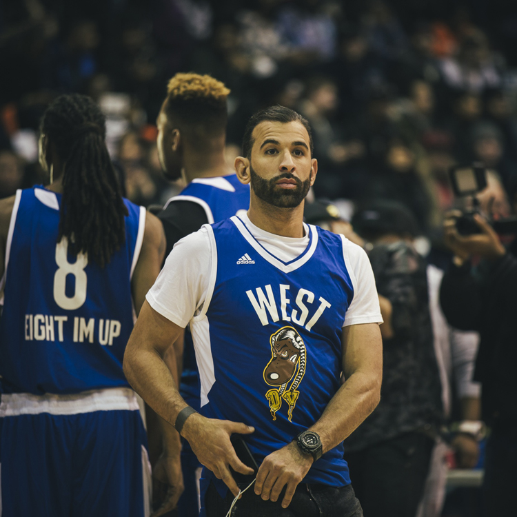 Jose Bautista NBA AllStar 2016 Charity Game