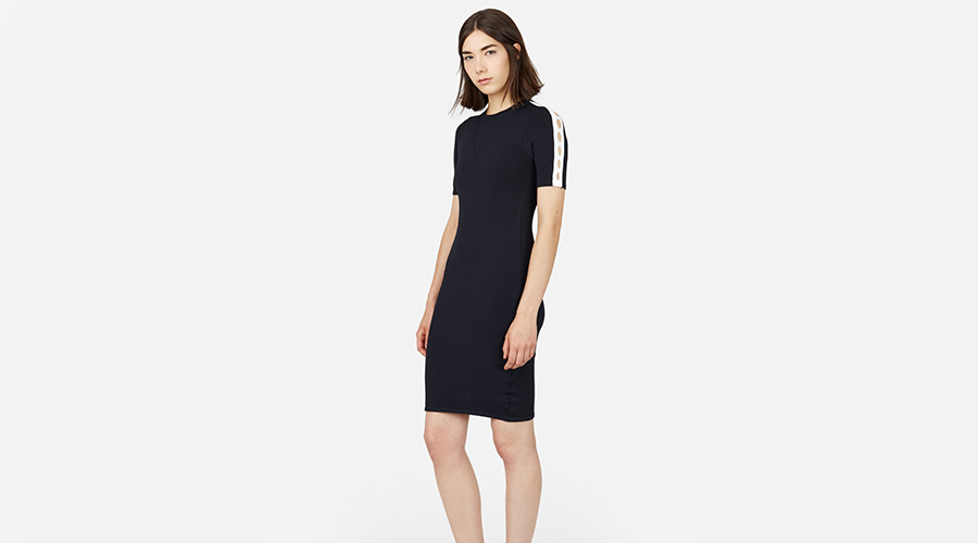 Opening Ceremony Cut Out Short Sleeve Dress