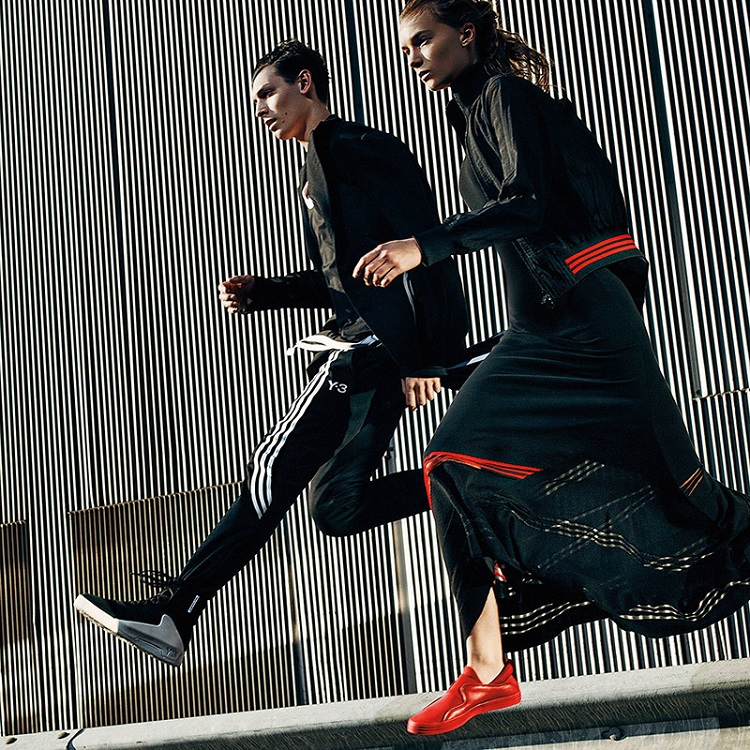 Y-3 Spring Summer 2016 Campaign 'In Motion'-2