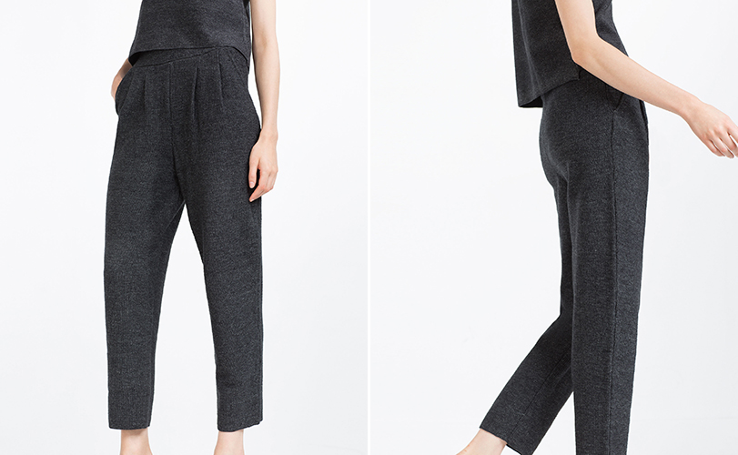 Zara Darted Trousers