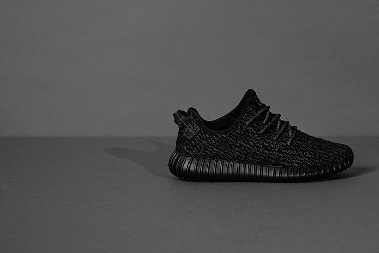 adidas Restocks the YEEZY Boost 350 'Black'-1