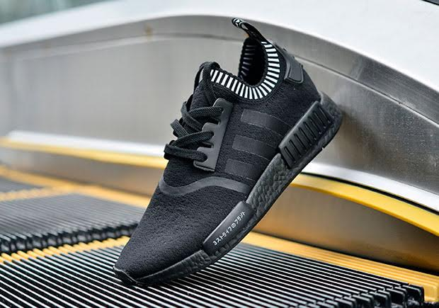 Adidas Drops Nmd Black Boost Japan Sidewalk Hustle