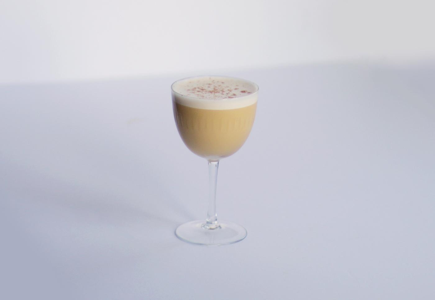 Apricot Flip Cocktail-3