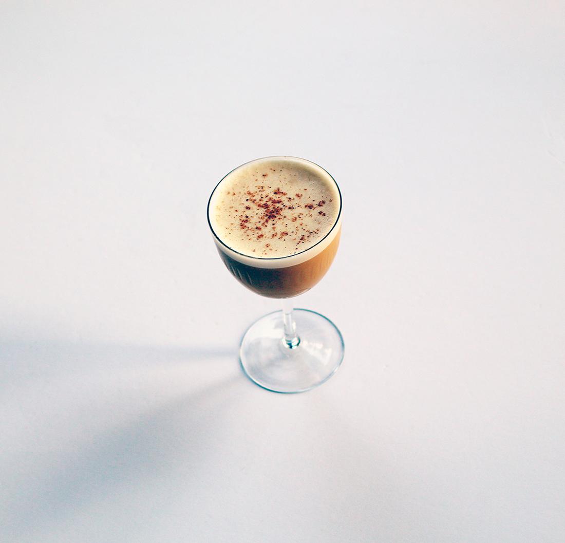 Apricot Flip Cocktail