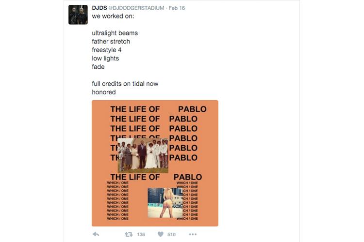 DJDS Life of Pablo