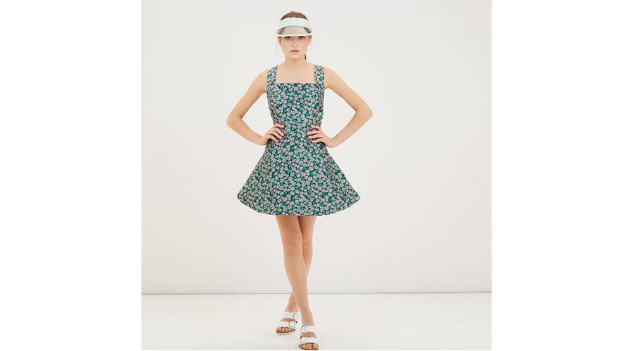 Maison Kitsune Pinafore Dress