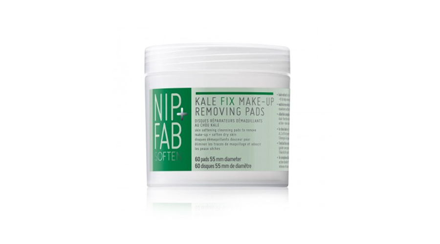 NipFab Kale Fix MakeUp Removing Pads