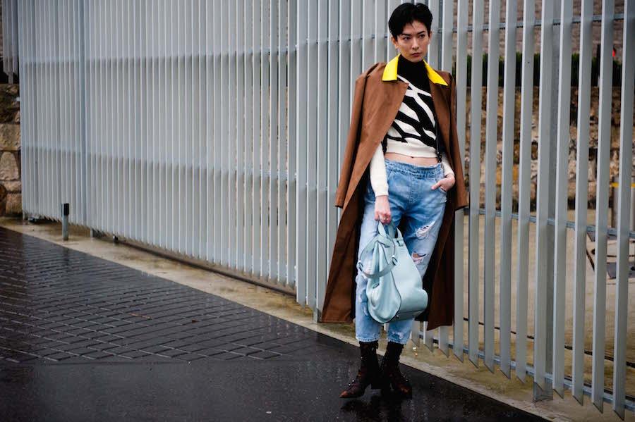 Paris Fashion Week Street Style 2016-17