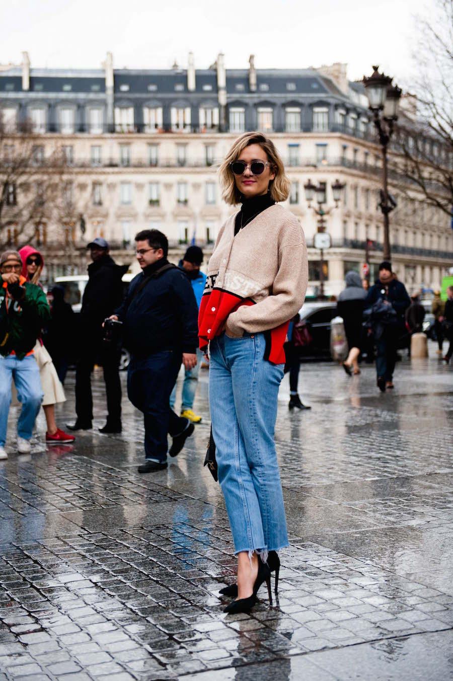 Paris Fashion Week Street Style 2016-19