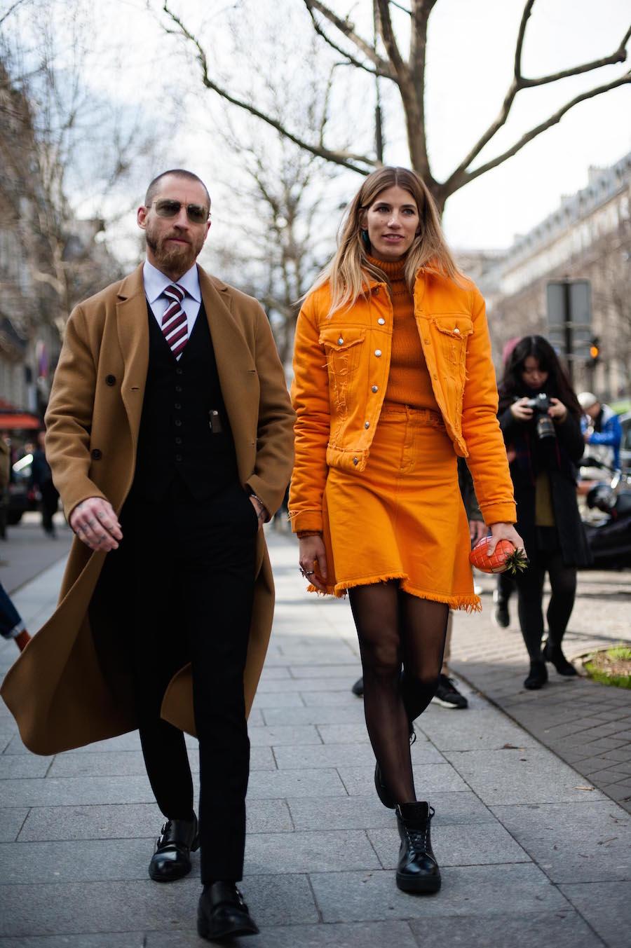 Paris Fashion Week Street Style 2016-20
