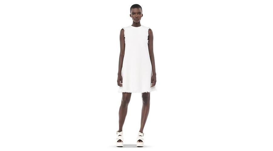 T By Alexander Wang Burlap Dress