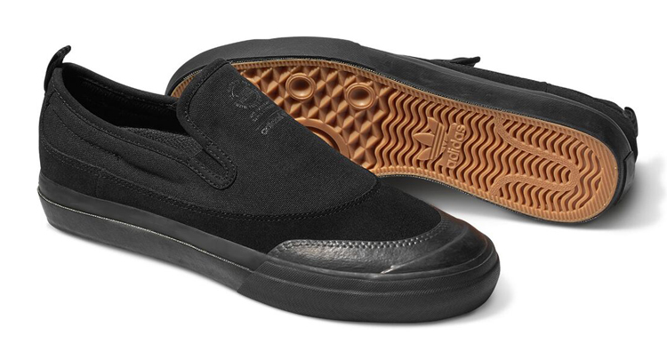 adidas Skateboarding Matchcourt Slip Black