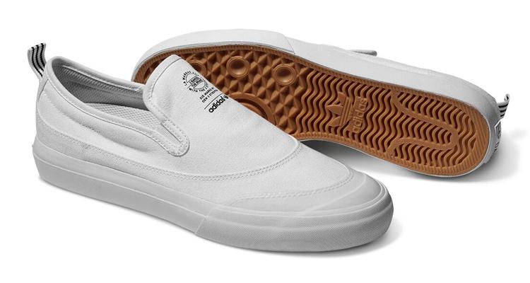 adidas Skateboarding Matchcourt Slip Silhouette White