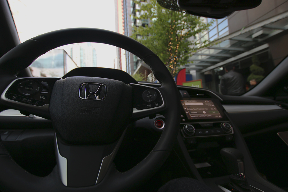 2016 Honda Civic Coupe-interior