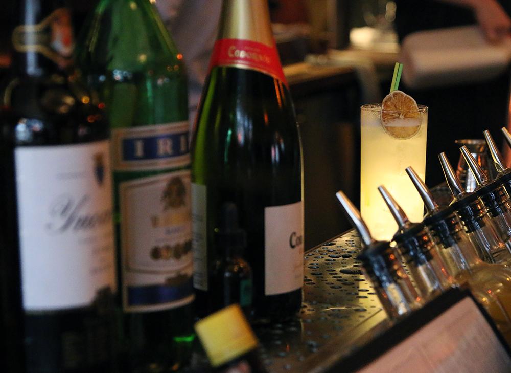Bar Raval Fury Cocktail at Bar