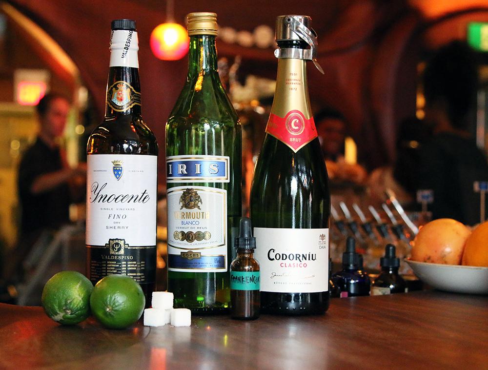 Bar Ravel Fury Cocktail Ingredients