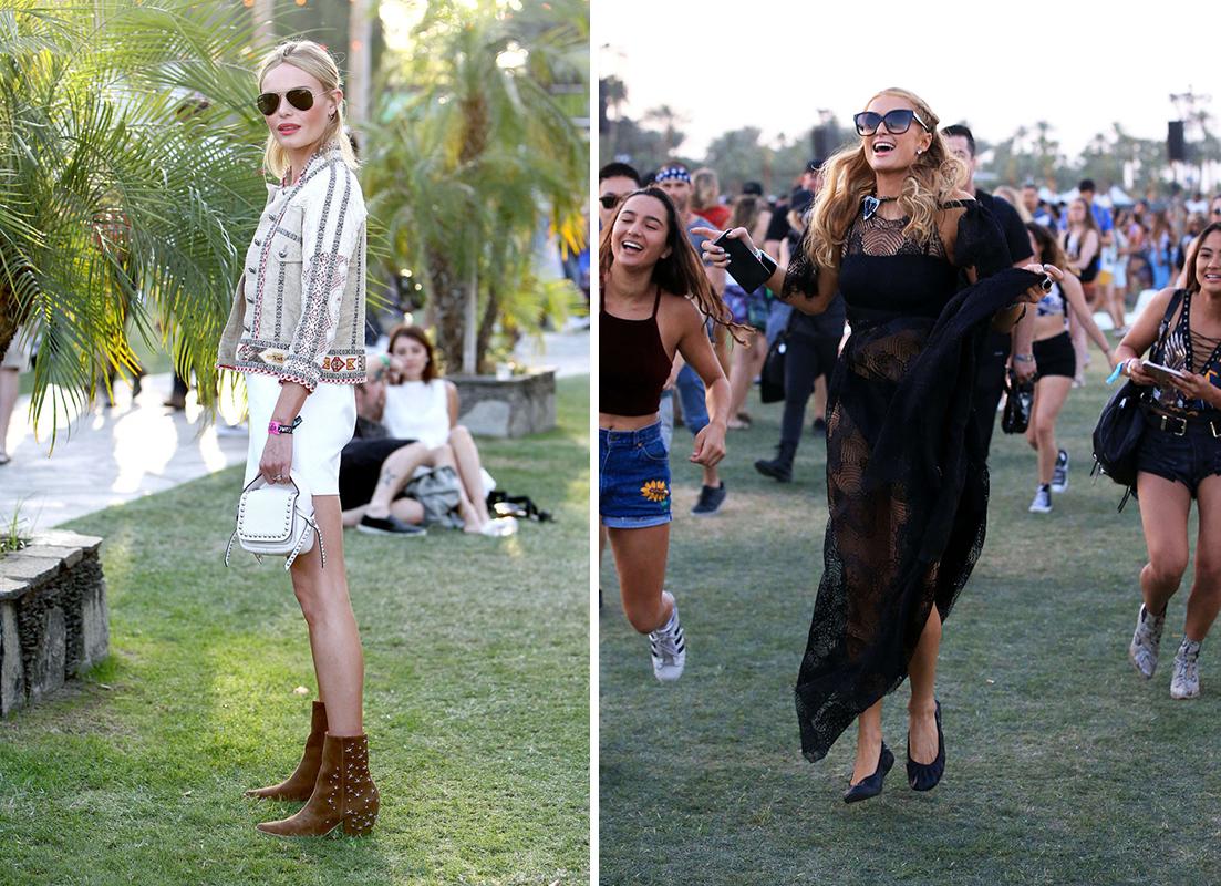 Kate Bosworth Paris Hilton Coachella 2016