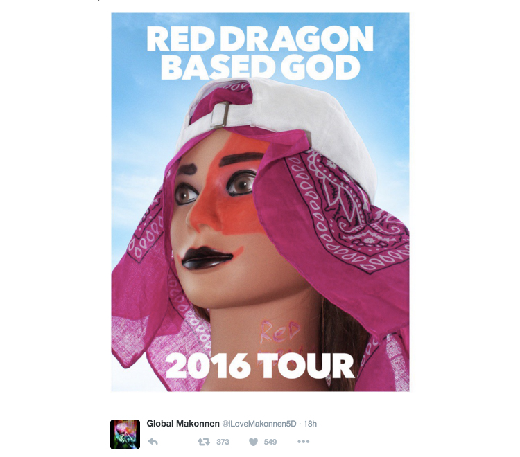 Red Dragon Based God