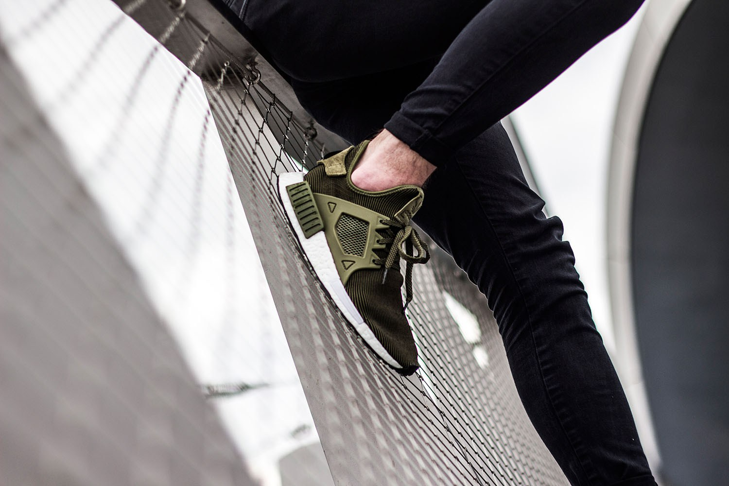 adidas Originals NMD XR1 Olive Edition-2