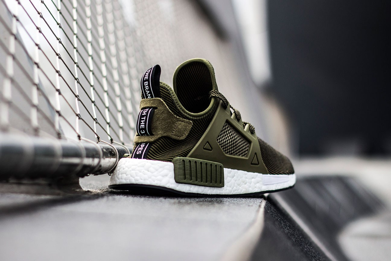 adidas Originals NMD XR1 Olive Edition-5