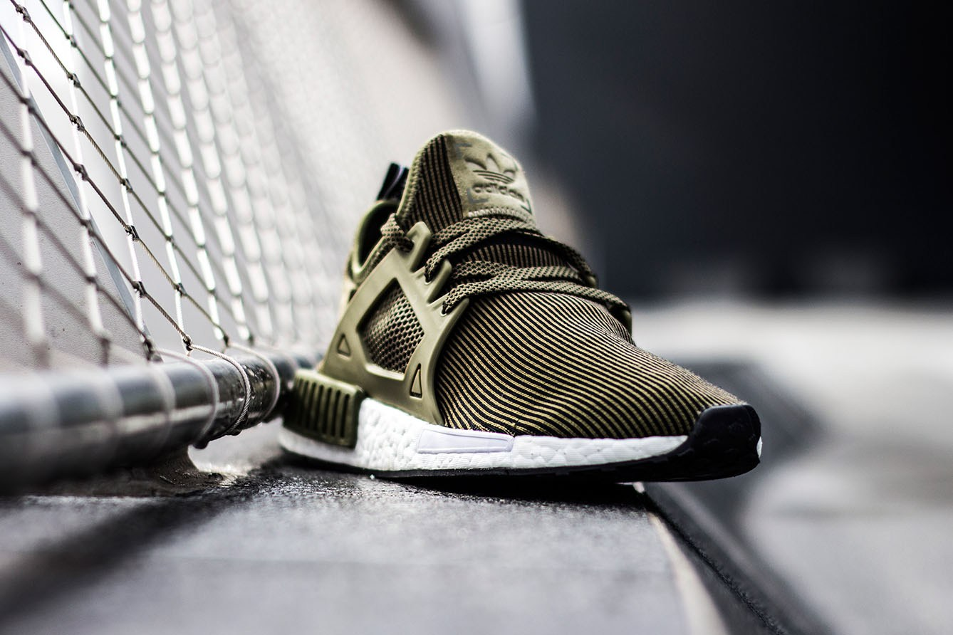 adidas Originals NMD XR1 Olive Edition-6