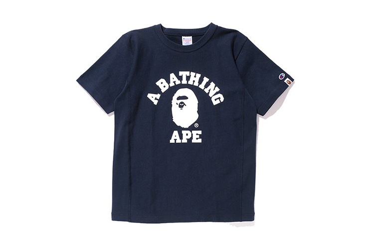 1058202799ab A Bathing Ape x Champion Capsule Collection
