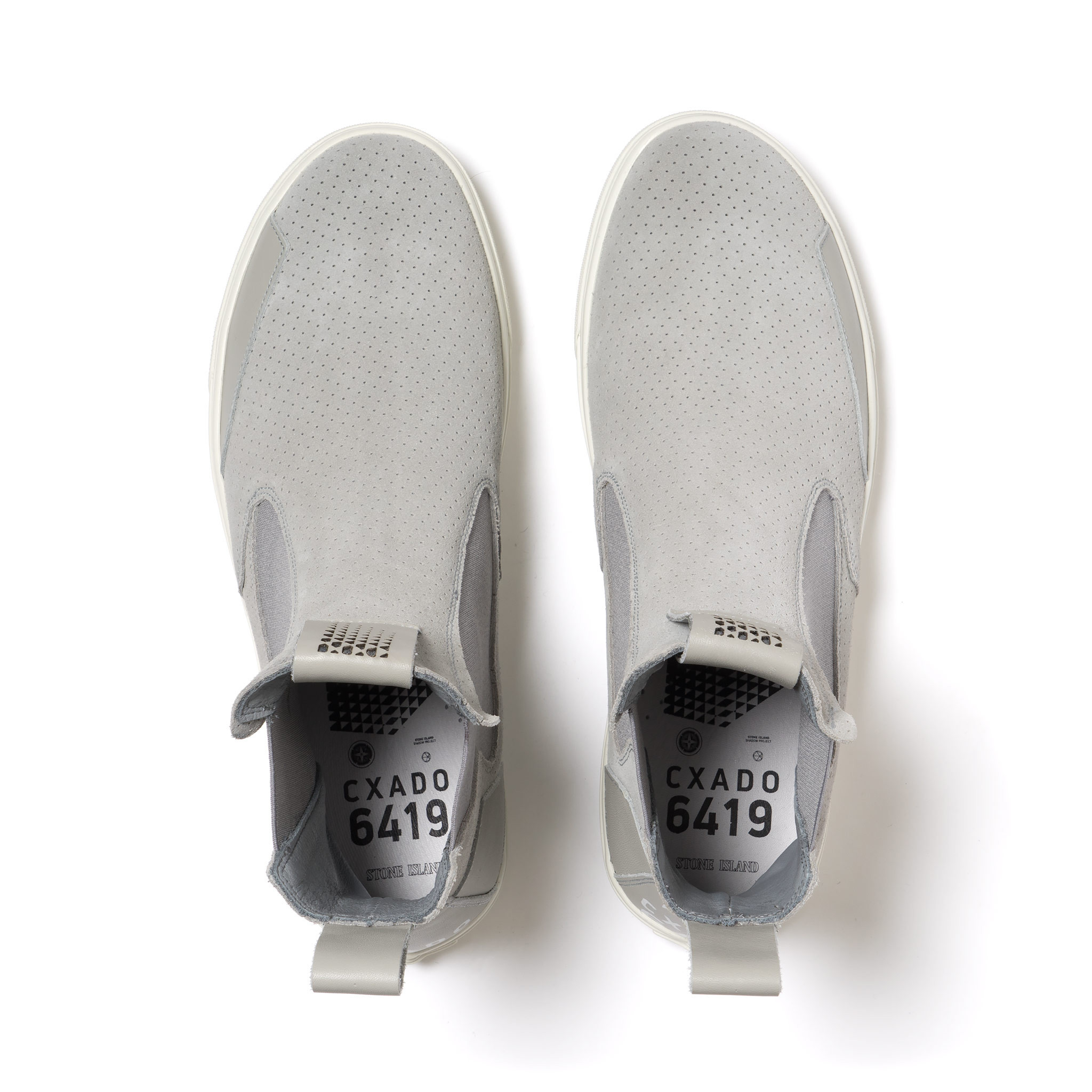 Stone Island Shadow Project Suede Slip On Boot-5
