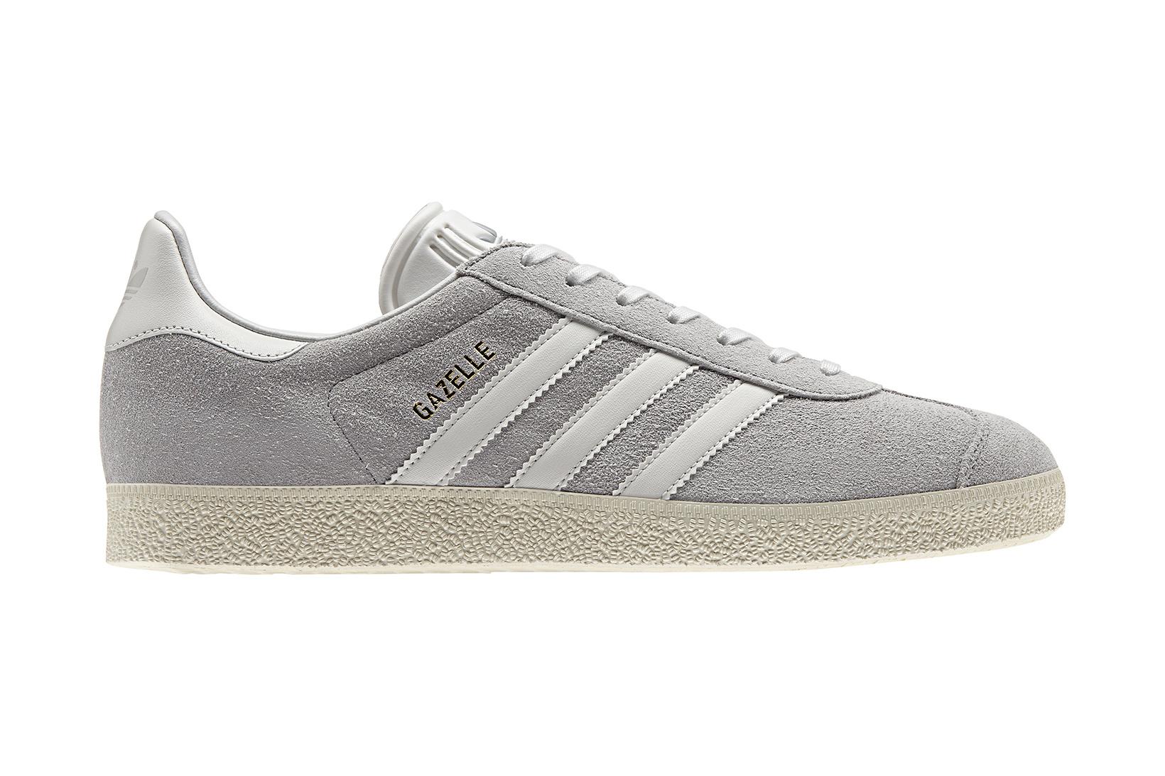 online store 9a308 b169f adidas Originals Gazelle Vintage Suede Grey ...