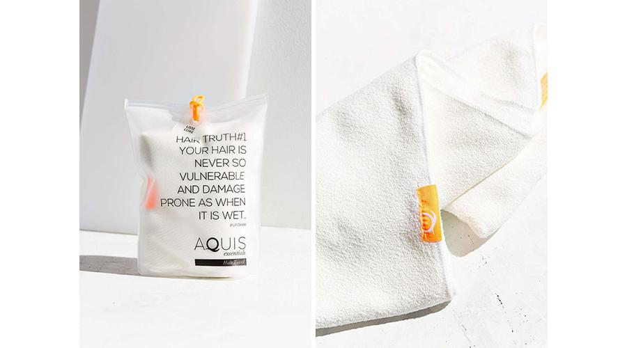aquis essentials hair towel