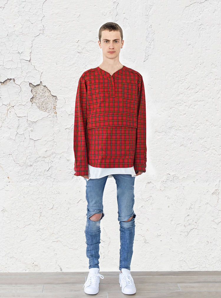 plaid-baseball-shirt-red-profound-aesthetic-spring-lookbook1