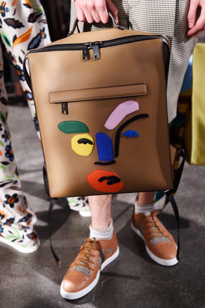 Fendi Mens Spring 2017 Matisse Inspired Bag
