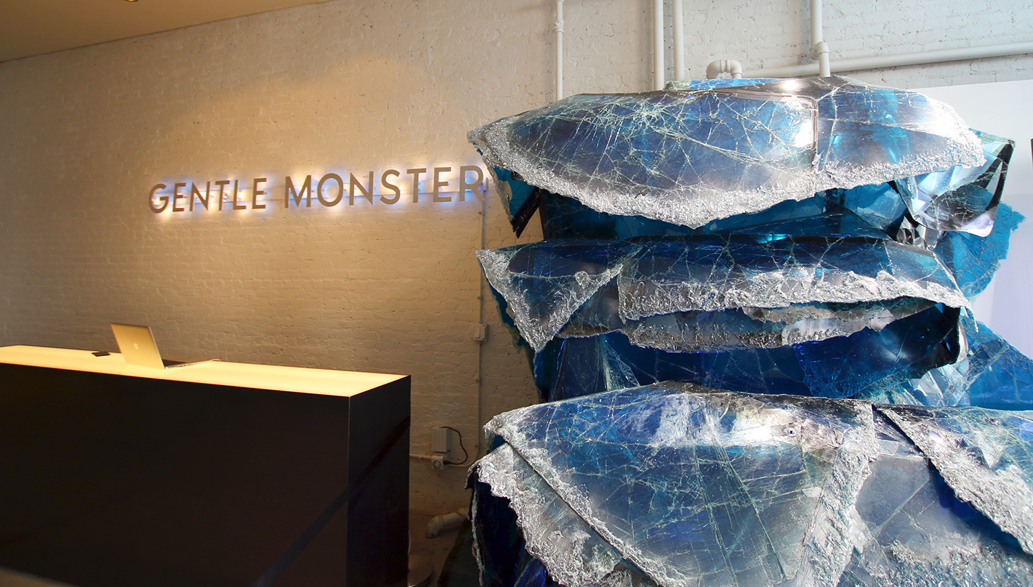 9bf7d2fd1b1 Gentle Monster NYC Unveils  Grand Blue  Installation in NYC ...