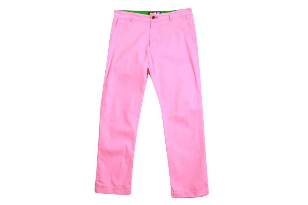 Golfwang Fashion Pink Chinos