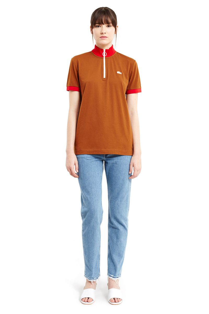 Lacoste x Opening Ceremony Capsule Rust Red Tshirt