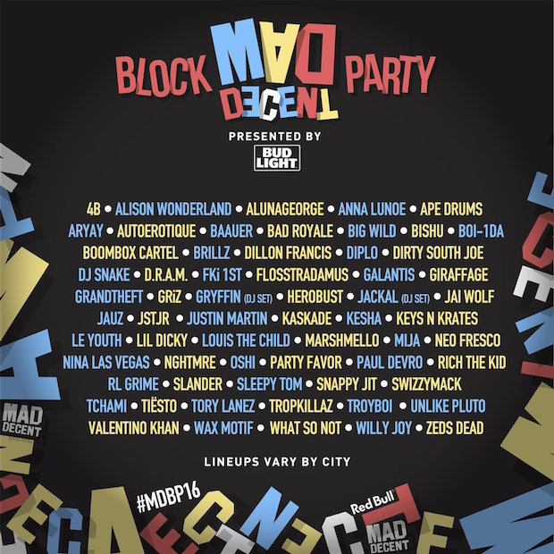 Mad Descent Block Party 2016