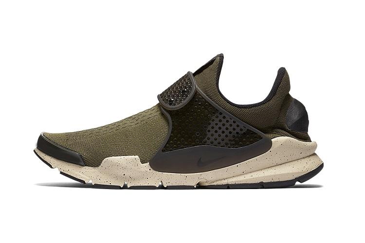 Nike's Sock Dart Gets An Olive Overhaul-2
