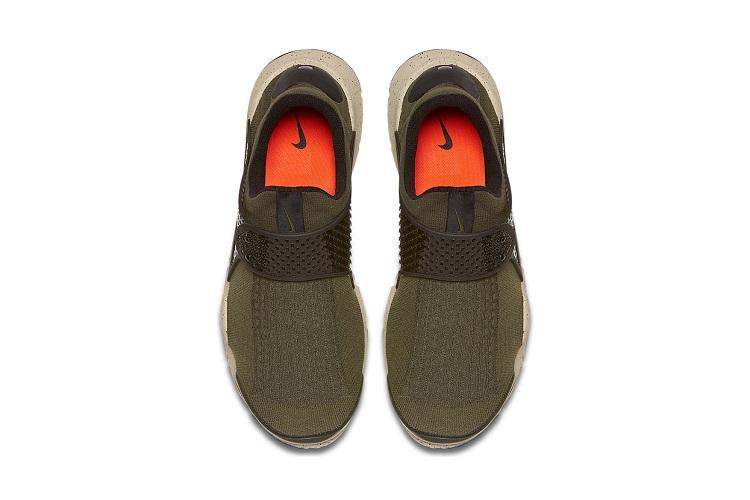 Nike's Sock Dart Gets An Olive Overhaul-4